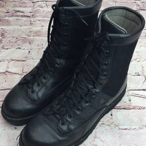 Men's Rocky Combat Boots Black Size 11 Military